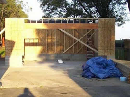 Garages and additions garage repair construction company for Garage building contractors